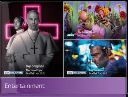 sky entertainment paket angebot
